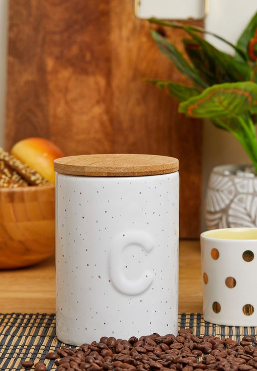 Bamboo Lid Fenwick Coffee Canister