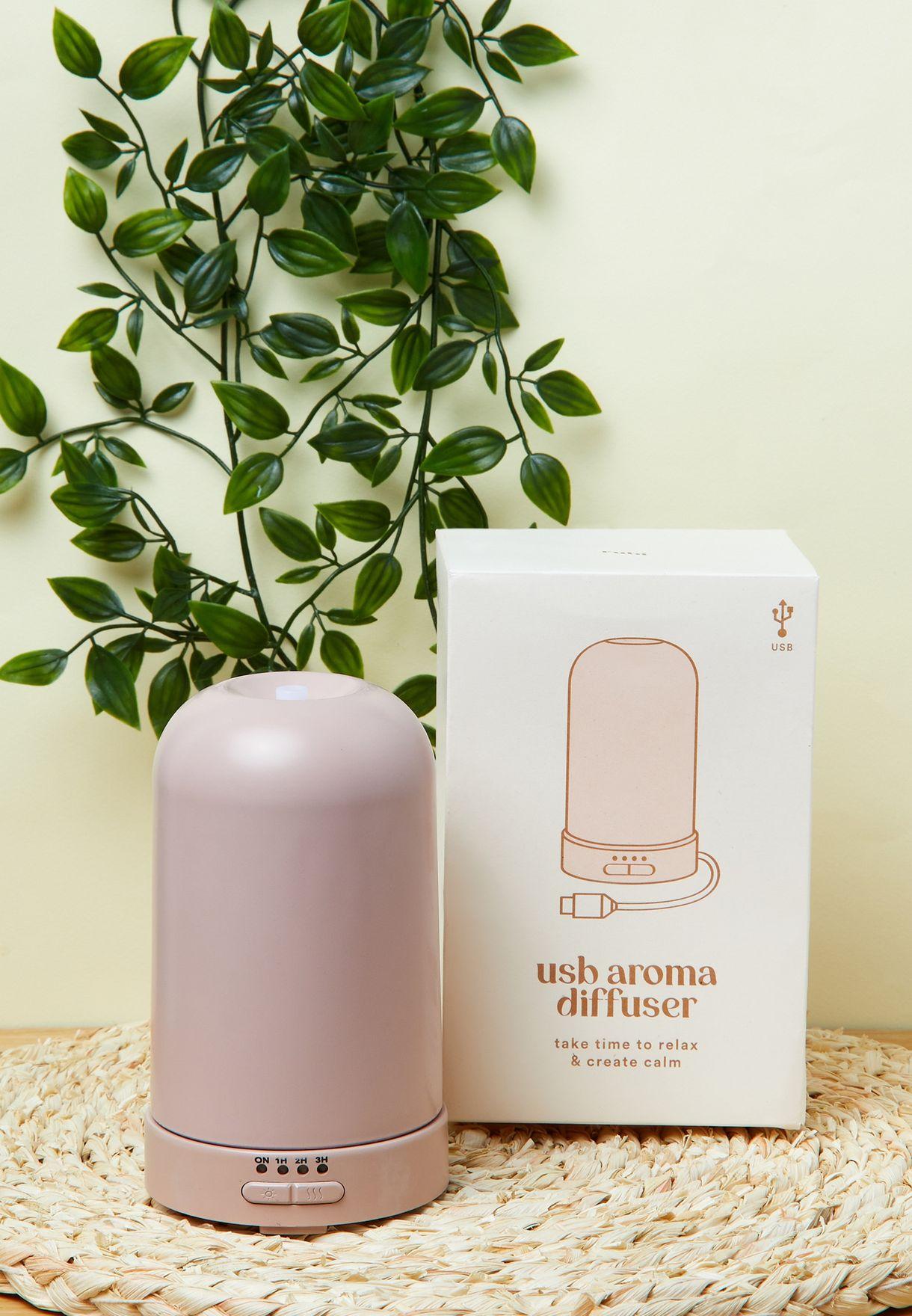 Pink USB Oil Diffuser