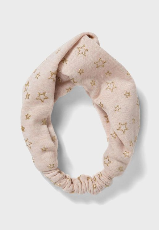 Kids Star Print Headband