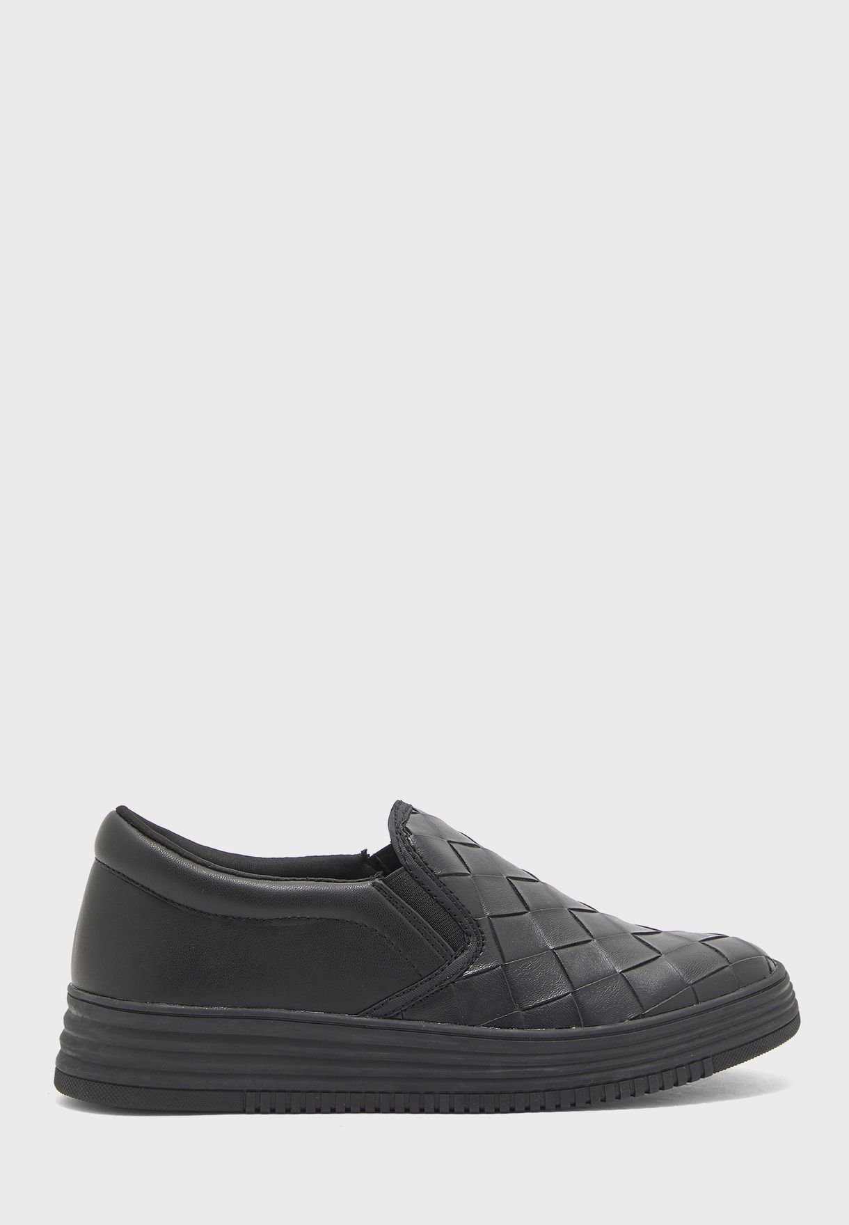 Quilted Flat Slip On