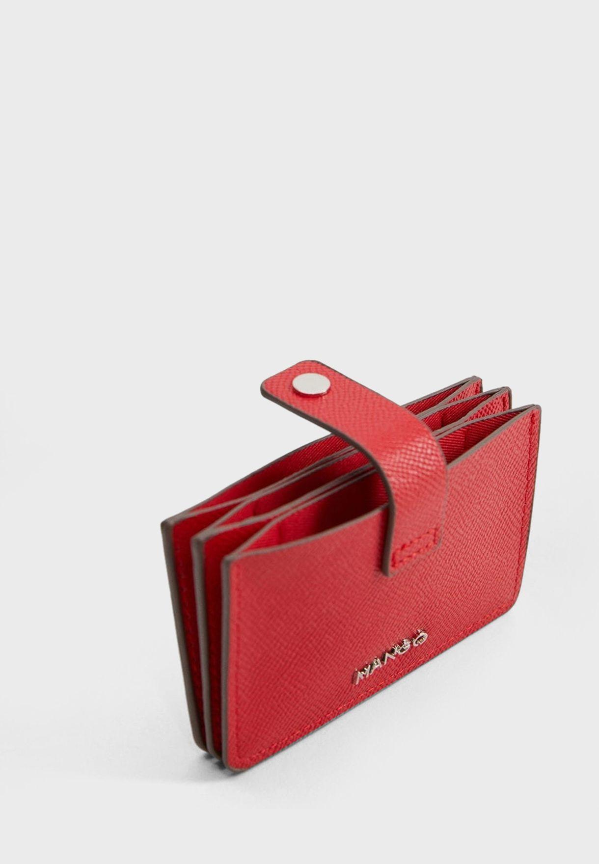 Muxia Multiple Compartment Cardholder