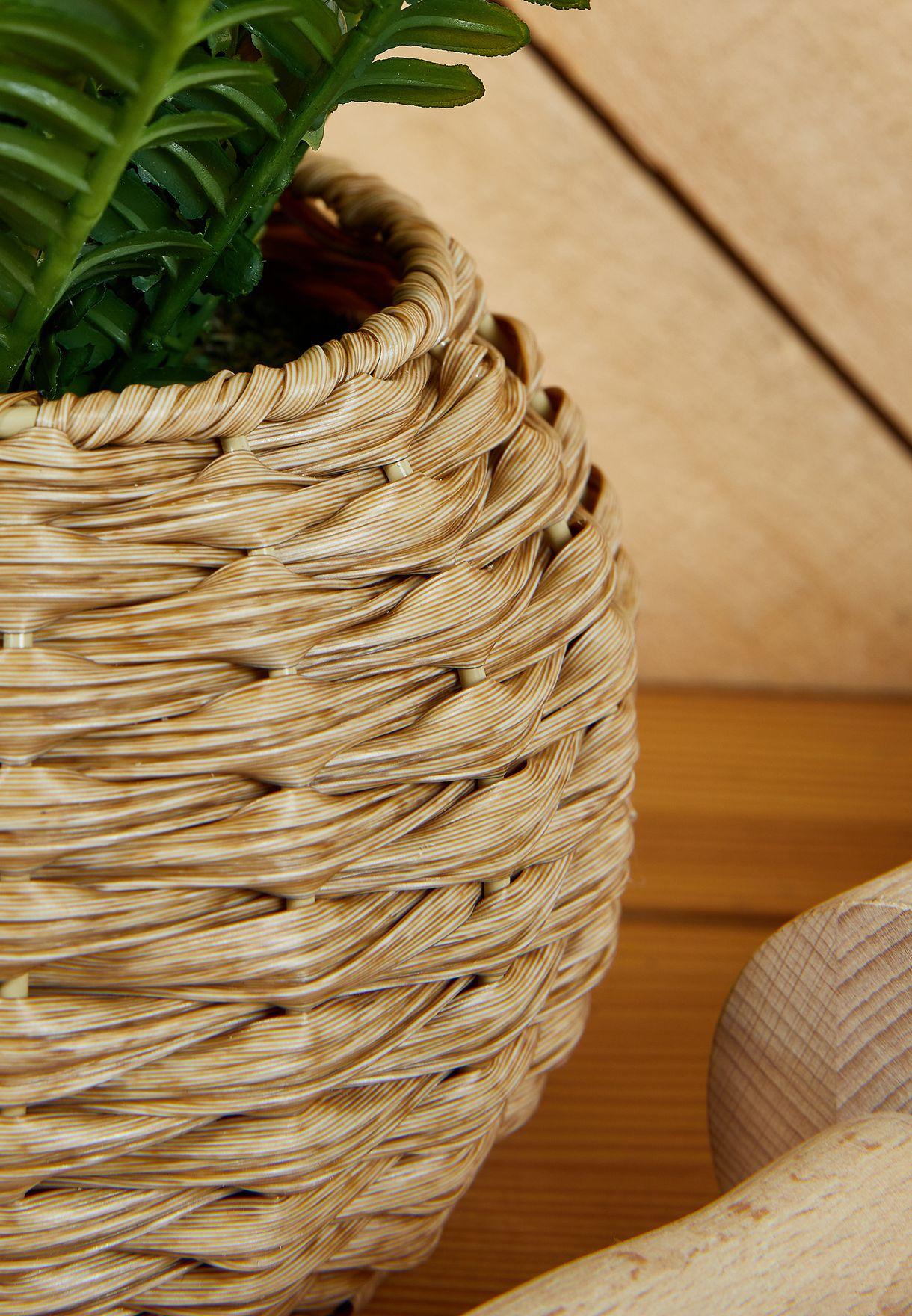 وعاء نبات سرخس صناعي