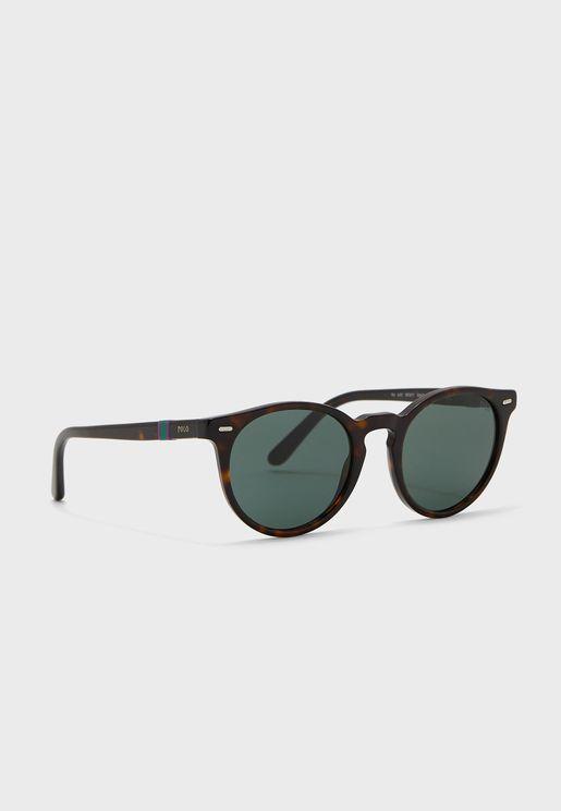 0Ph4151 Round Sunglasses