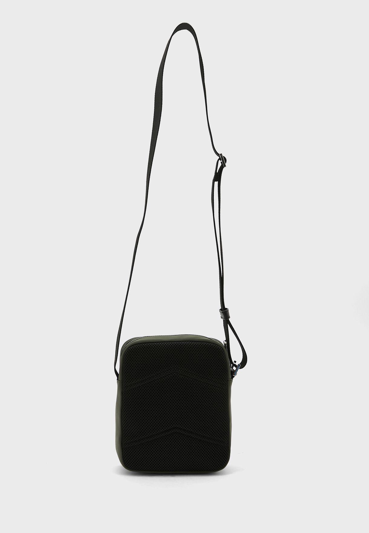 Wide Strap Messenger Bag