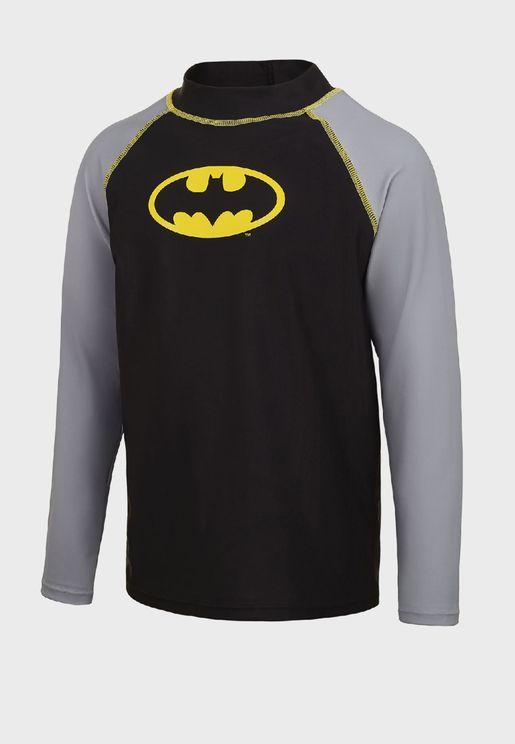 Youth Batman Rashgaurd T-Shirt