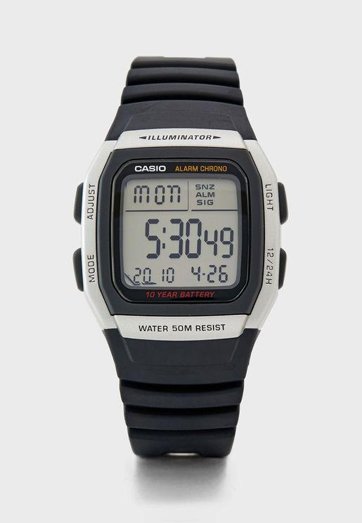 Classic Pu Strap Digital Watch