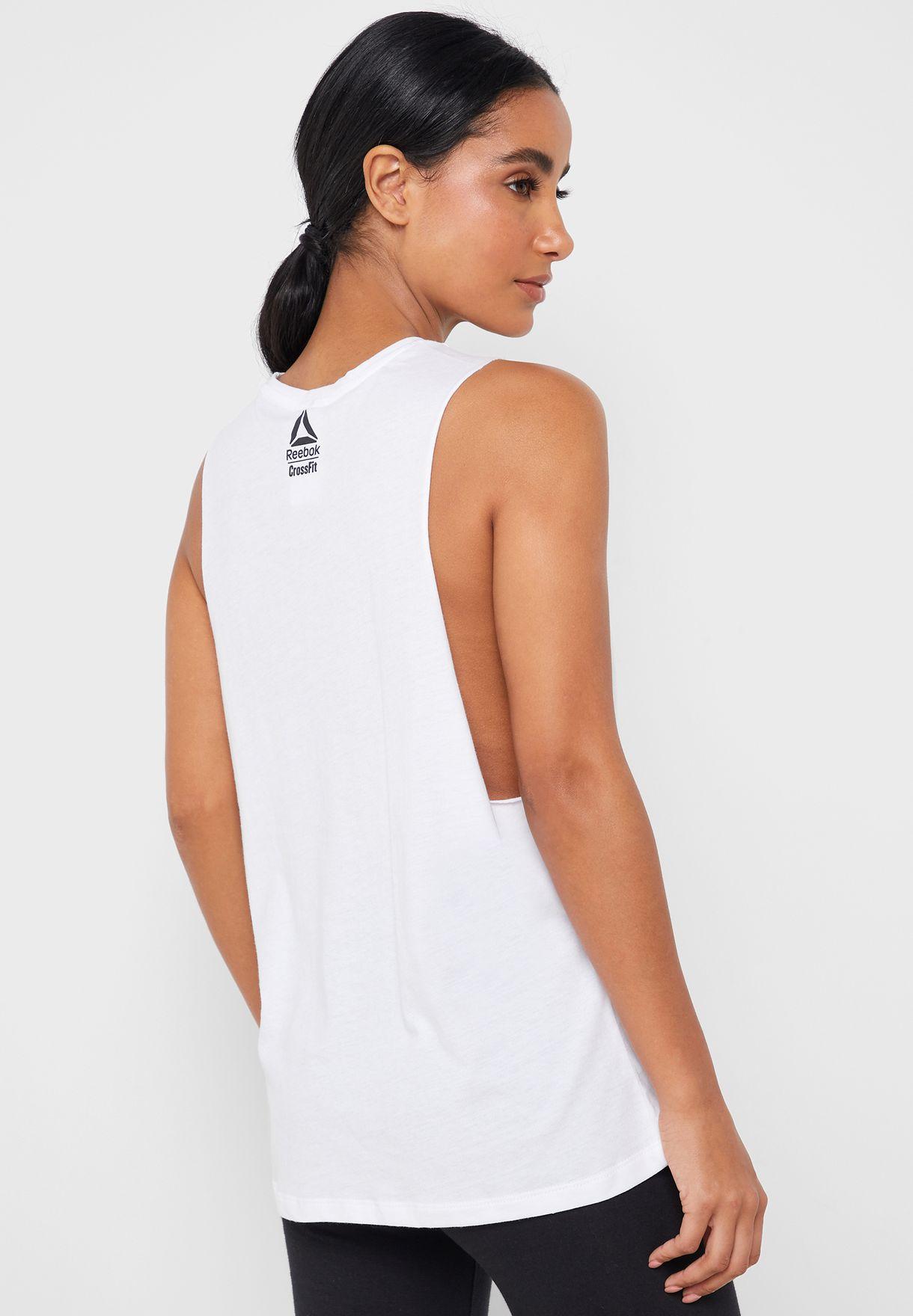 Reebok Damen /ärmelloses T-Shirt Cf Excellence is Obvious Muscle Tank