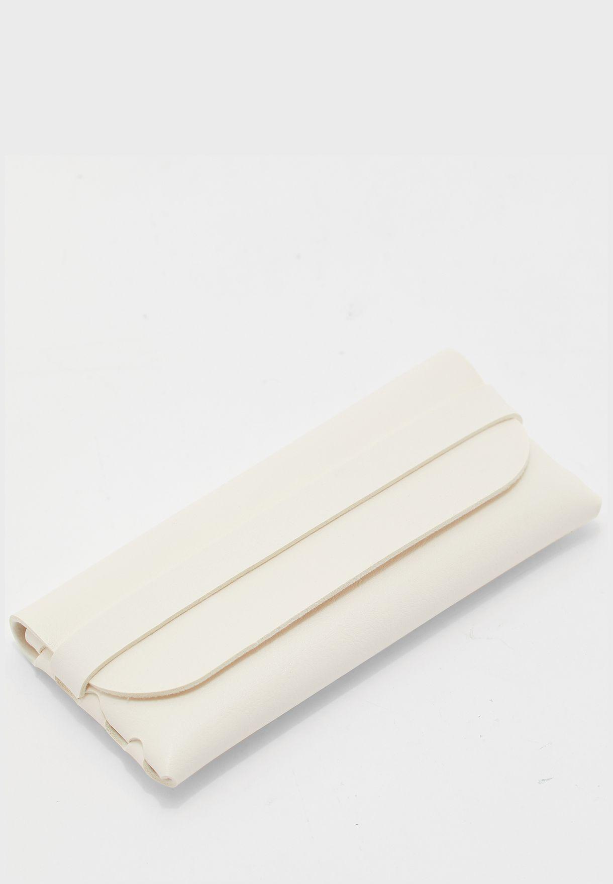 Fold Over Sunglasses Case