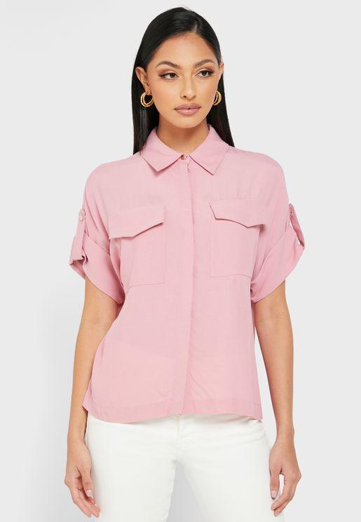 Niciia Pocket Detail Shirt