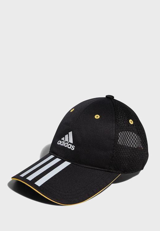 3 Stripe Mesh Cap