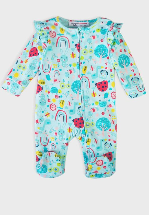 Infant Aop Sleepsuit
