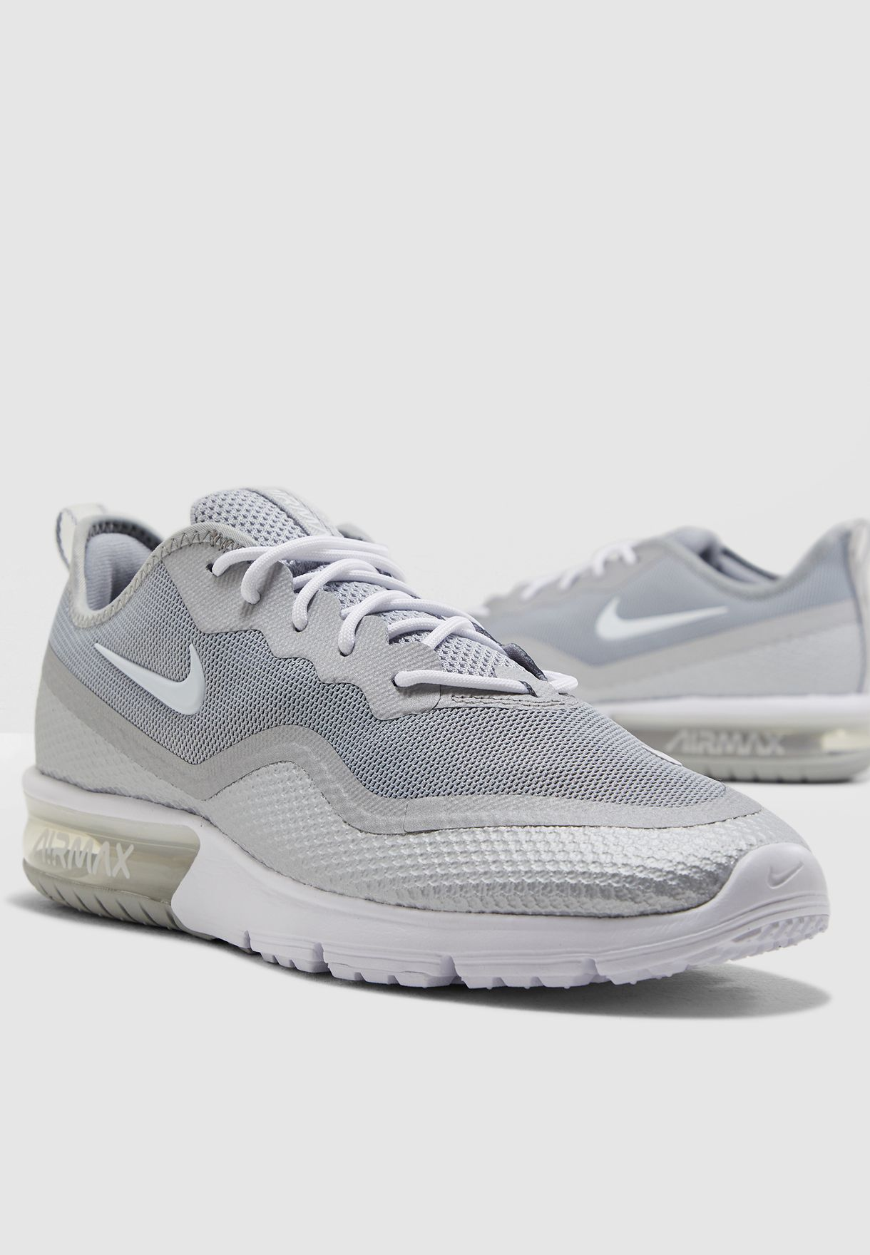 Buy Nike grey Air Max Sequent 4.5 for