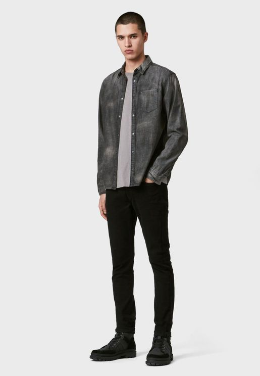 Garforth Shirt Relaxed Denim Shirt
