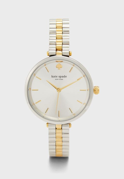 Holland Two Tone Analog Watch