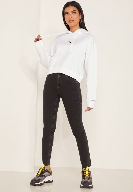 CK One High Waist Skinny Jeans
