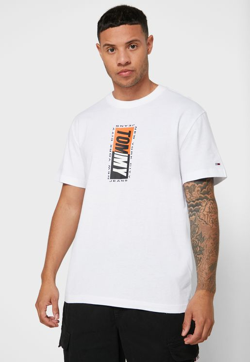 Graphic Crew Neck T-Shirt