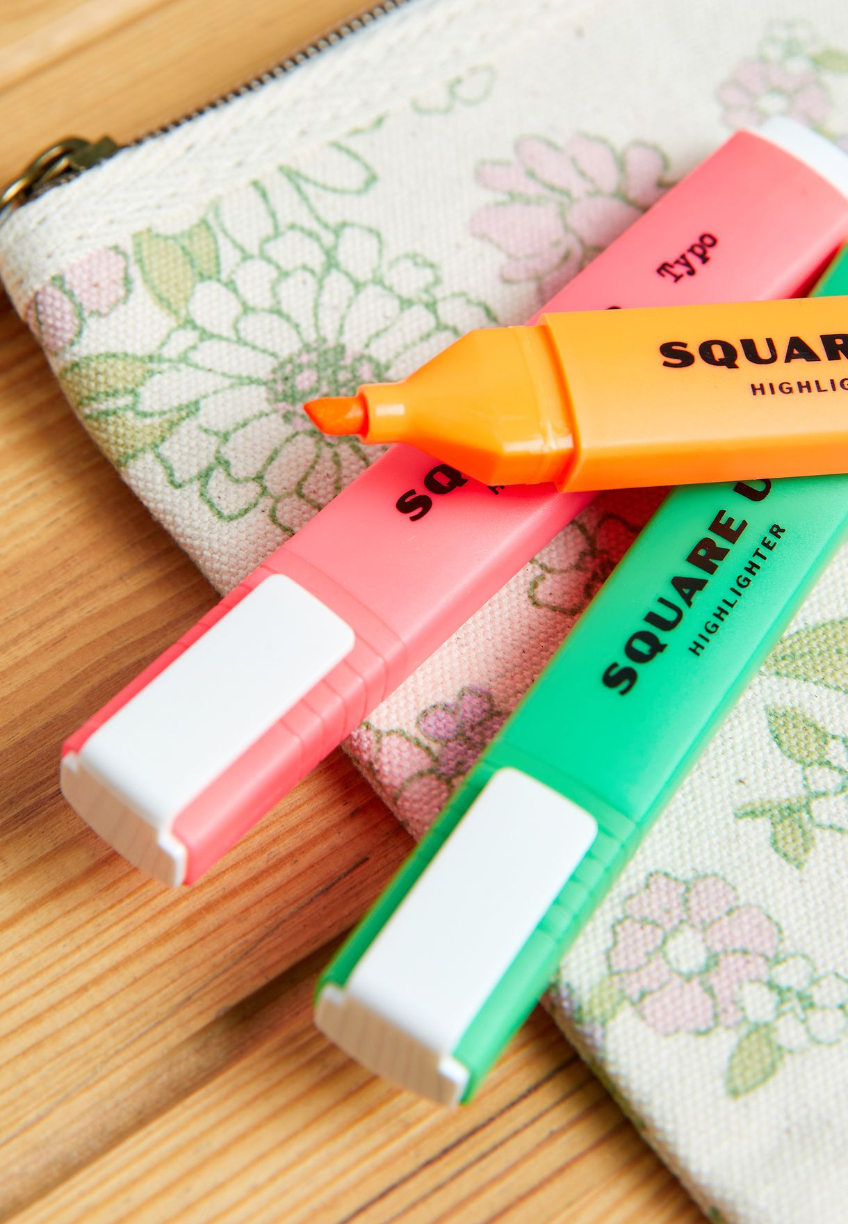 Square Up Highlighter Pens 5 Pack