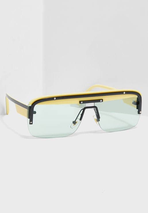 Hinge Shield Sunglasses
