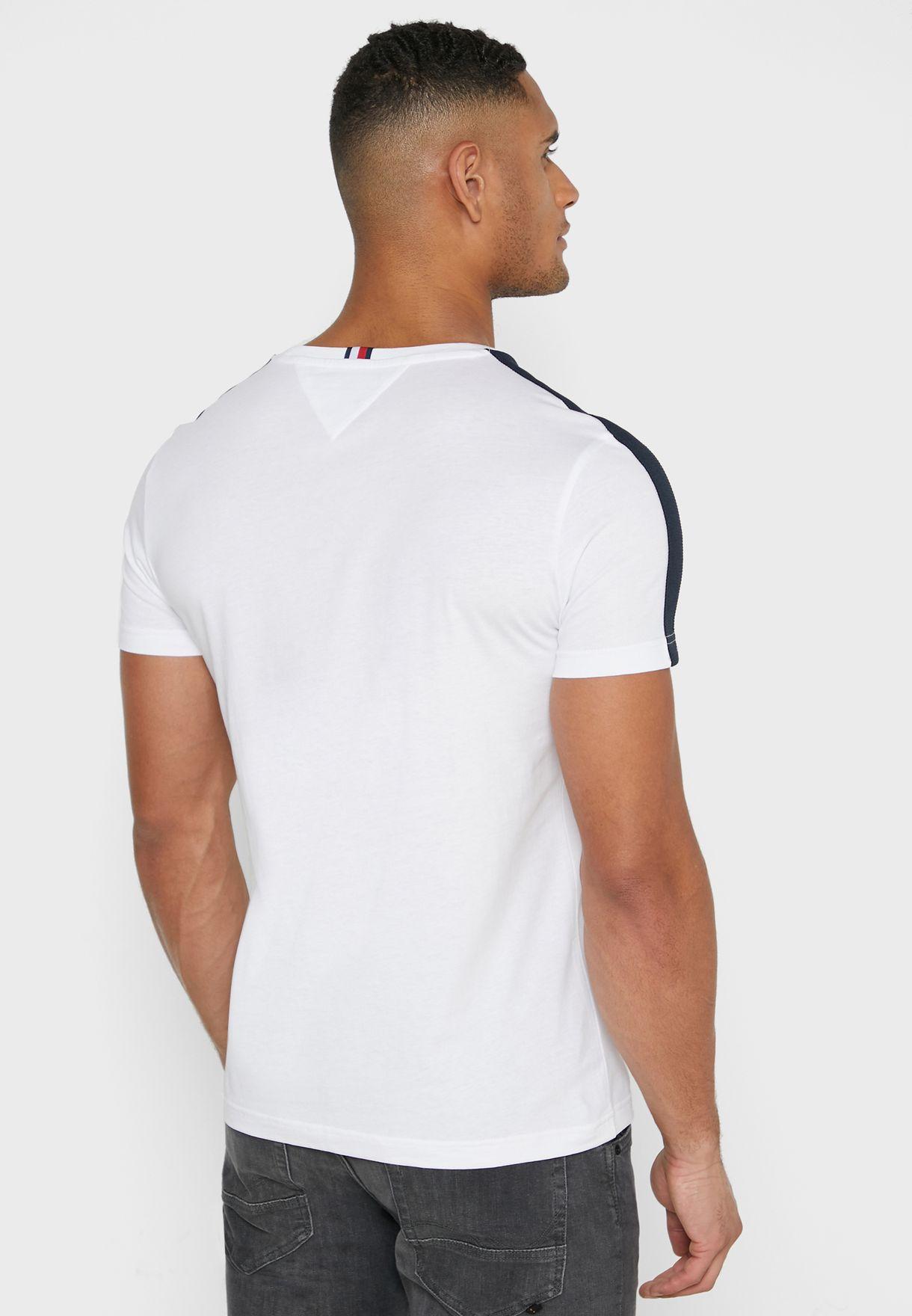 Namshi Exclusive Logo Printed Crew Neck T-Shirt