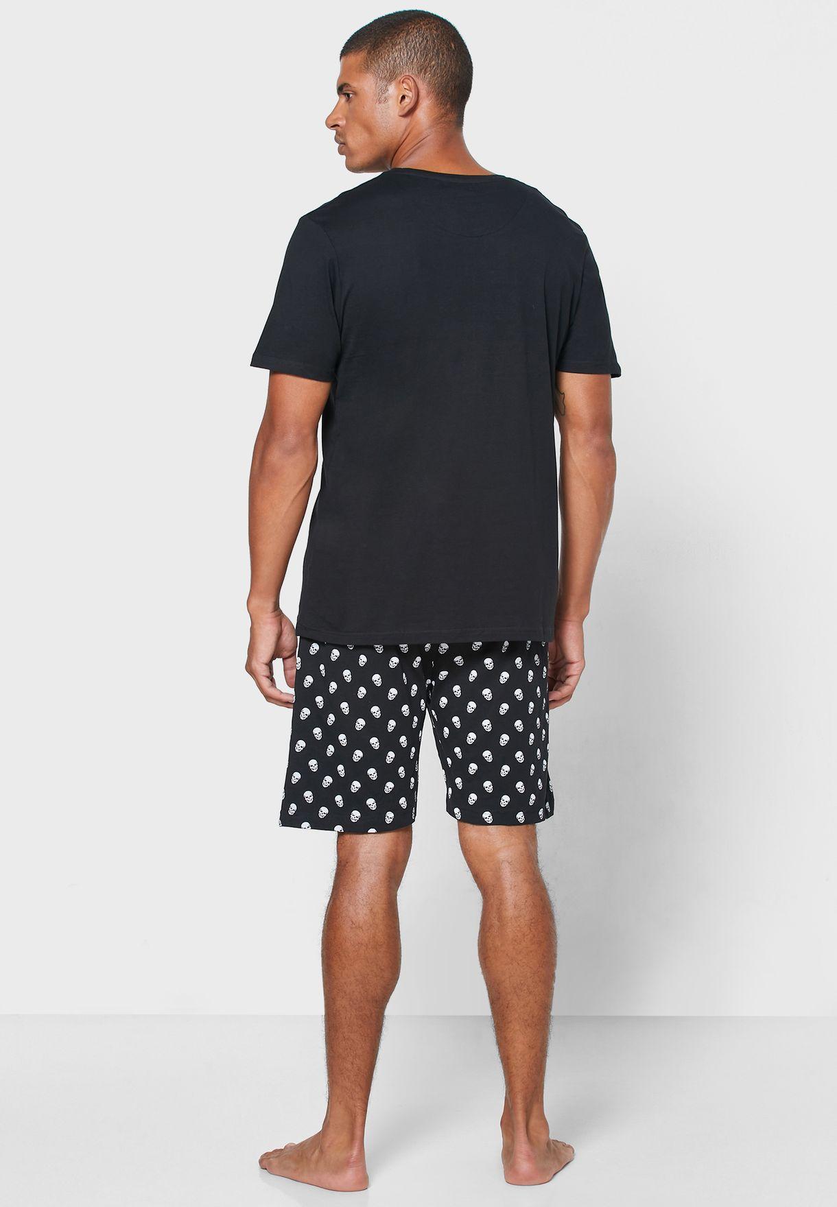 Pocket Detail Nightwear Set