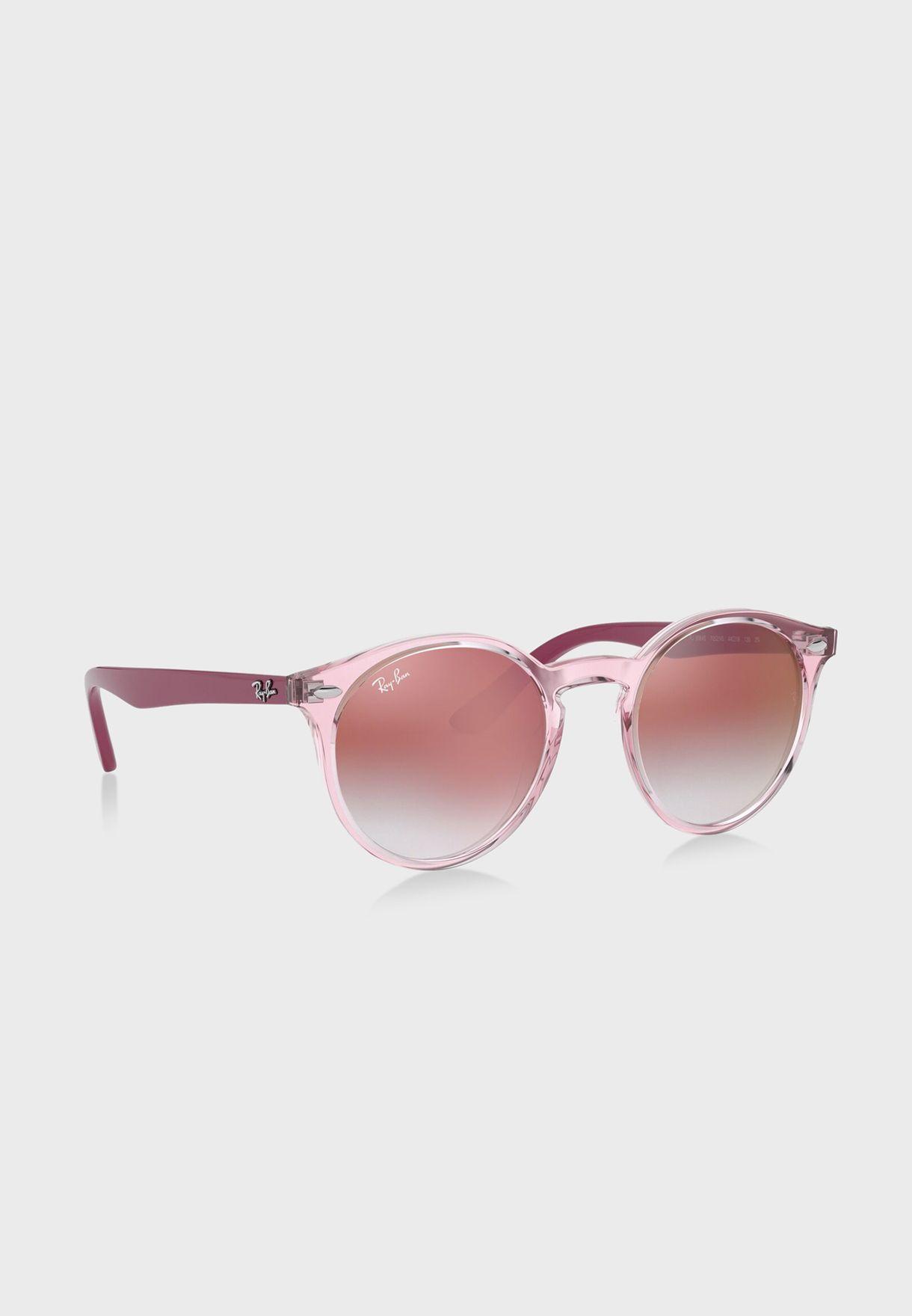 نظارة شمسية باطار شفاف