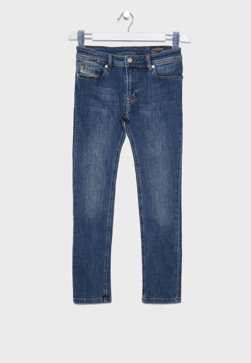 Kids Sleenker Slim Fit Jeans