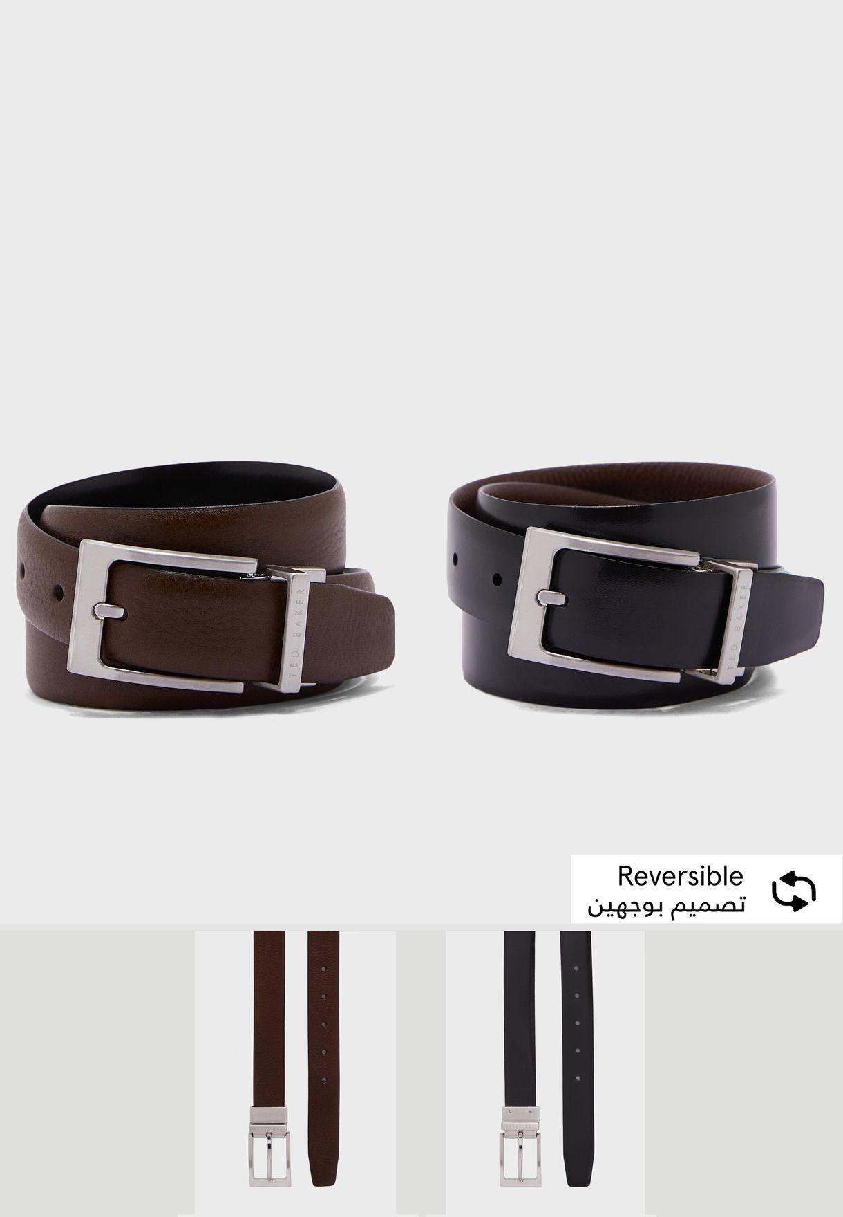 Karmer Reversible Leather Belt