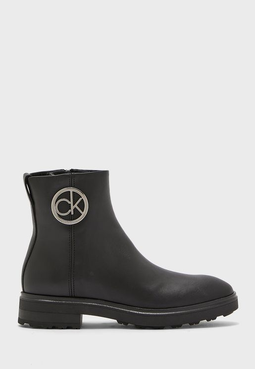 Cleat Ankle Boots