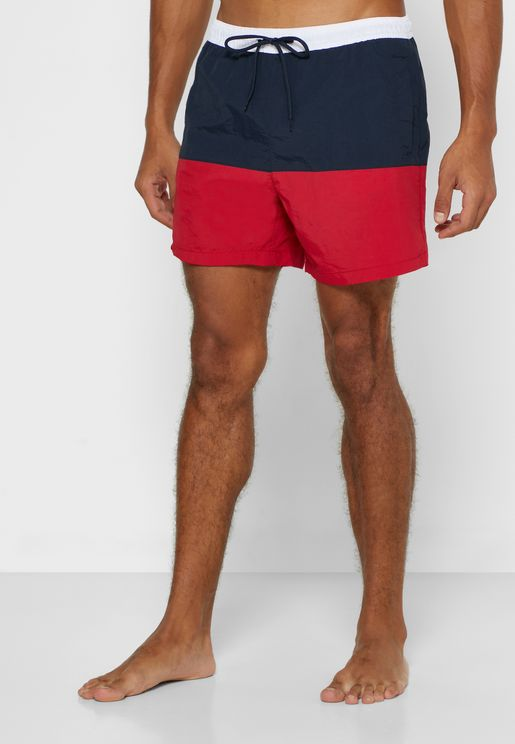 Colourblock Swim Short