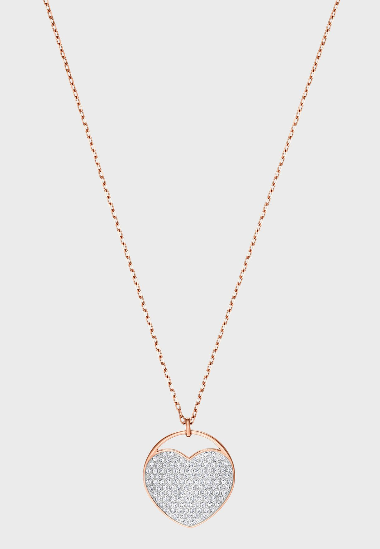 Ginger Heart Pendant Necklace