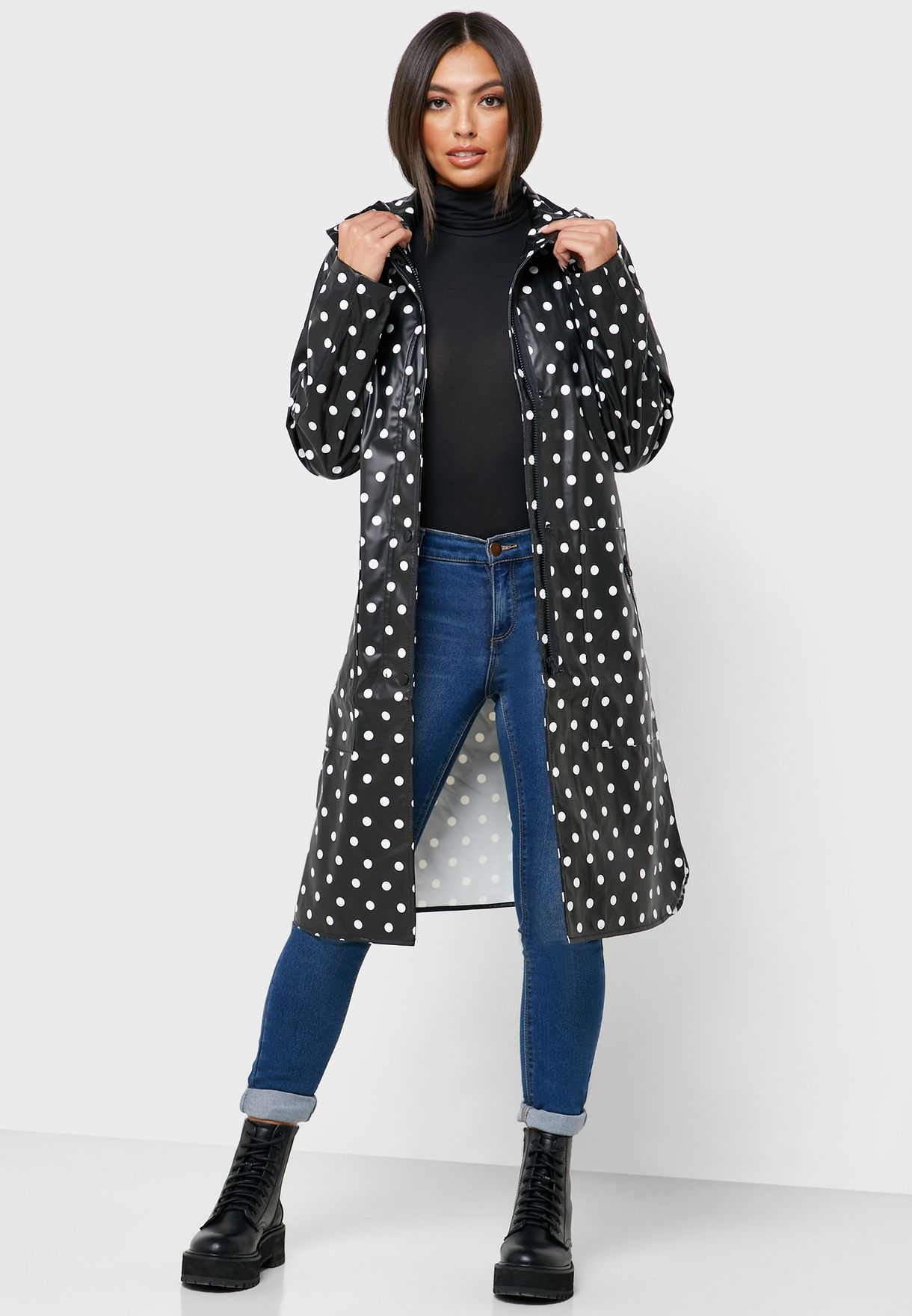Animal Print Raincoat