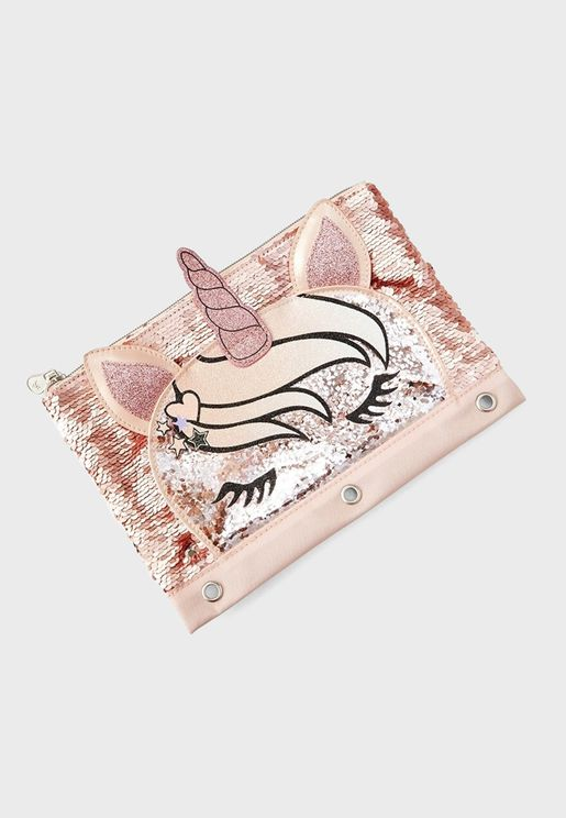Kids Unicorn Pencil Case
