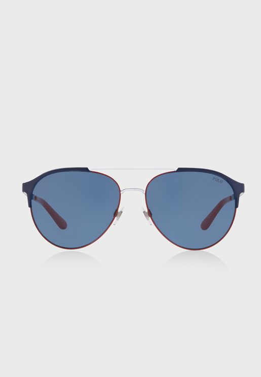 0PH3123 Aviator Sunglasses