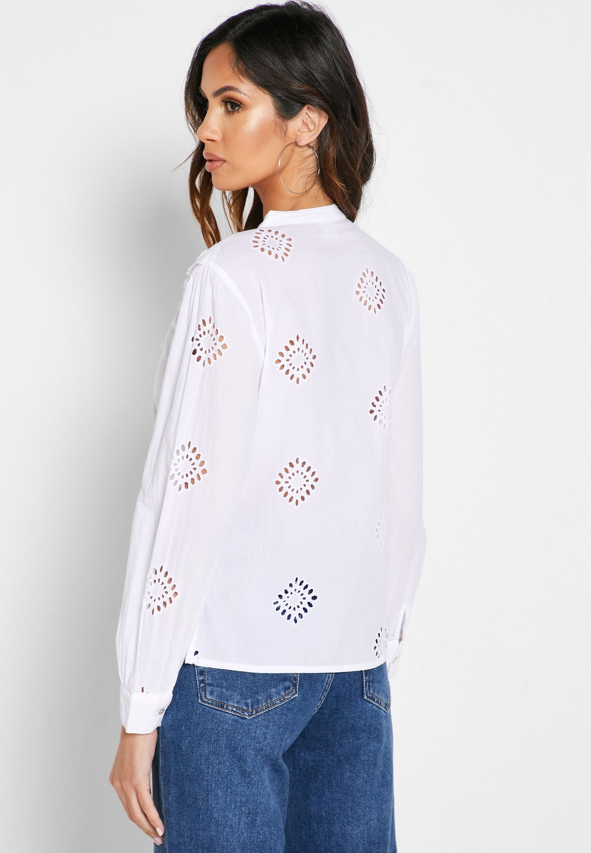قميص بياقة صينية
