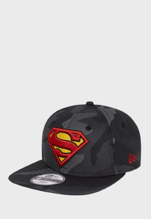 Youth 9Fifty Superman Camo Cap