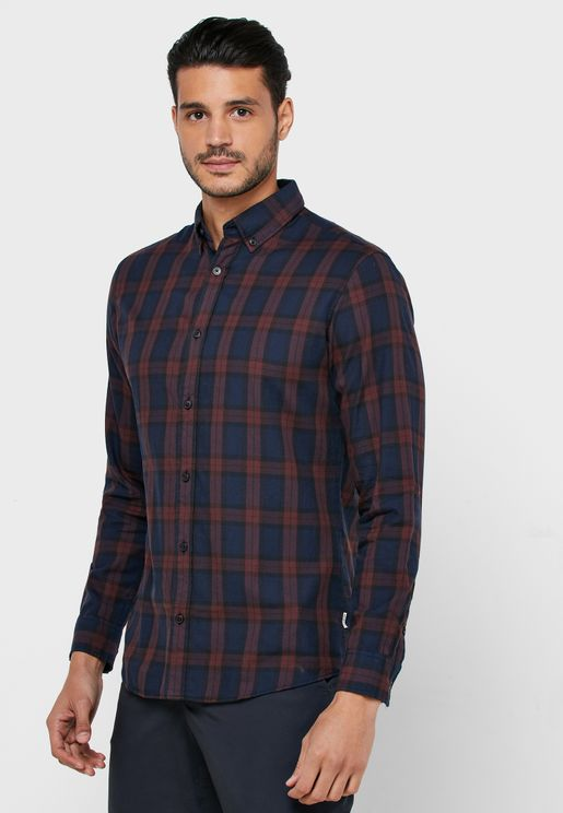 Mahone Slim Fit Checked Shirt