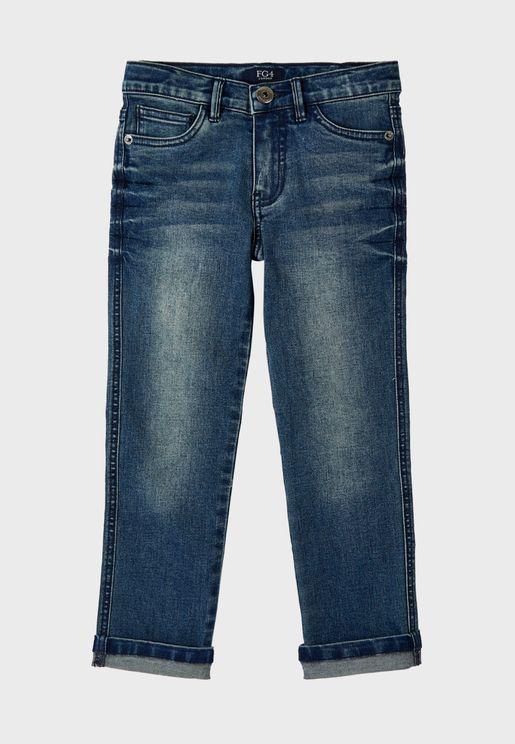 Little Harvey Mid Wash Jeans