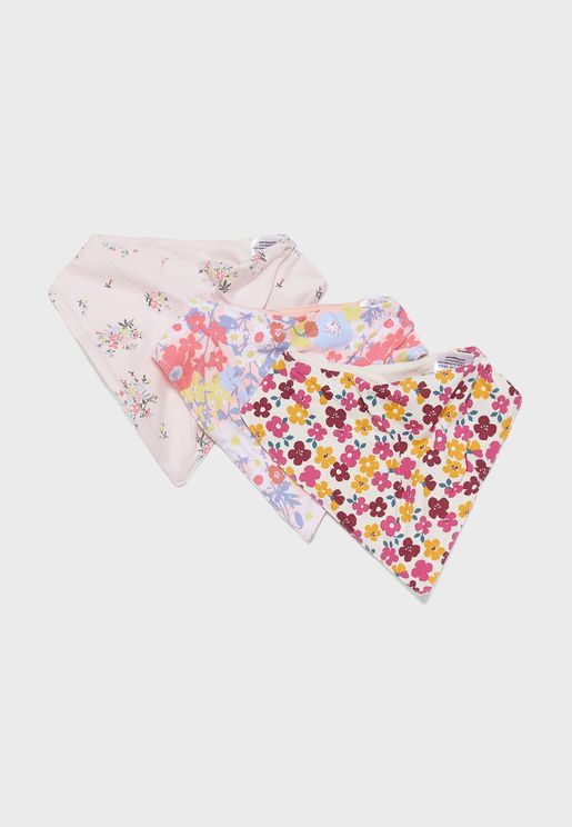 Kids 3 Pack Bibs Gift Set
