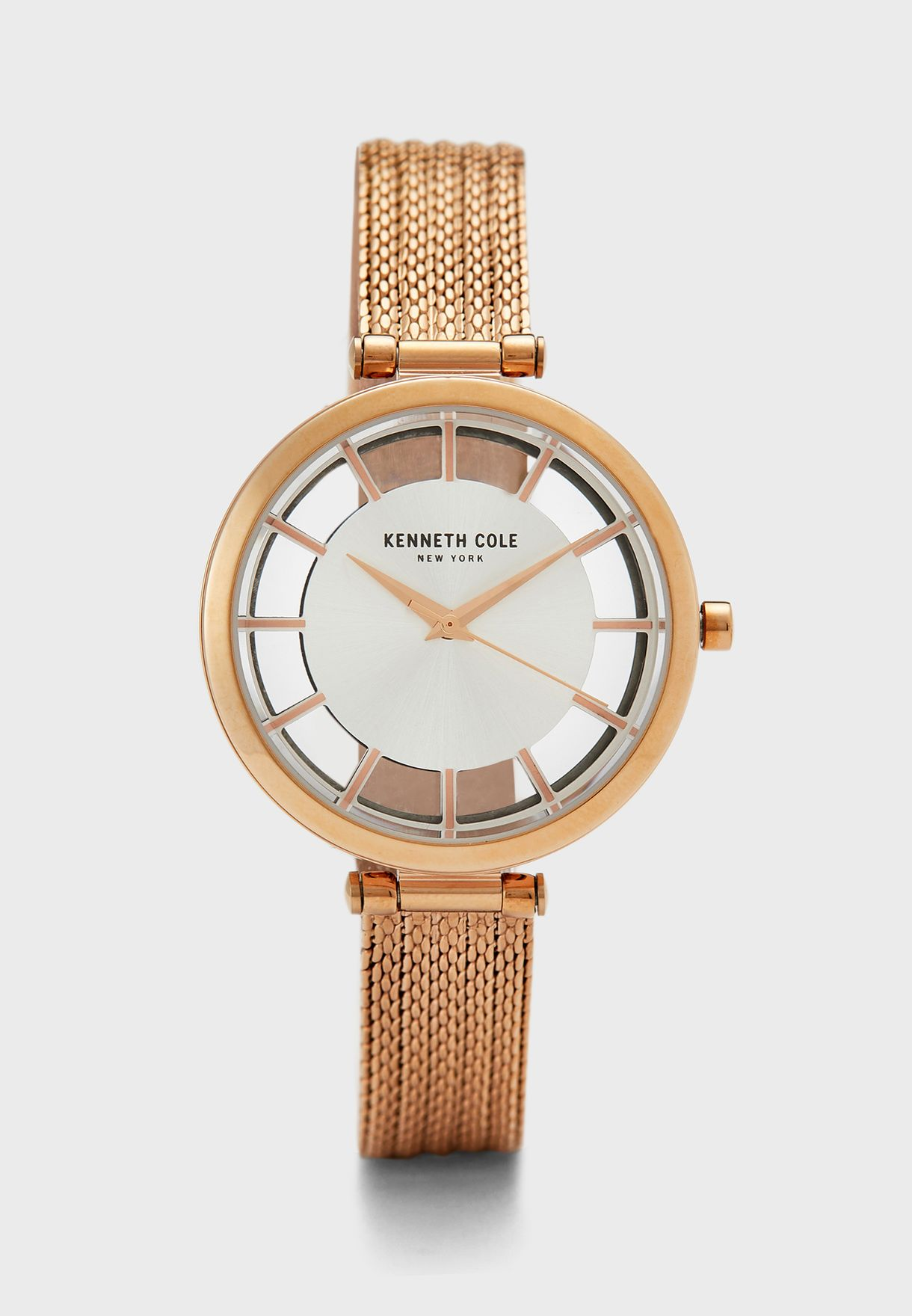 Classic Mesh Strap Analog Watch