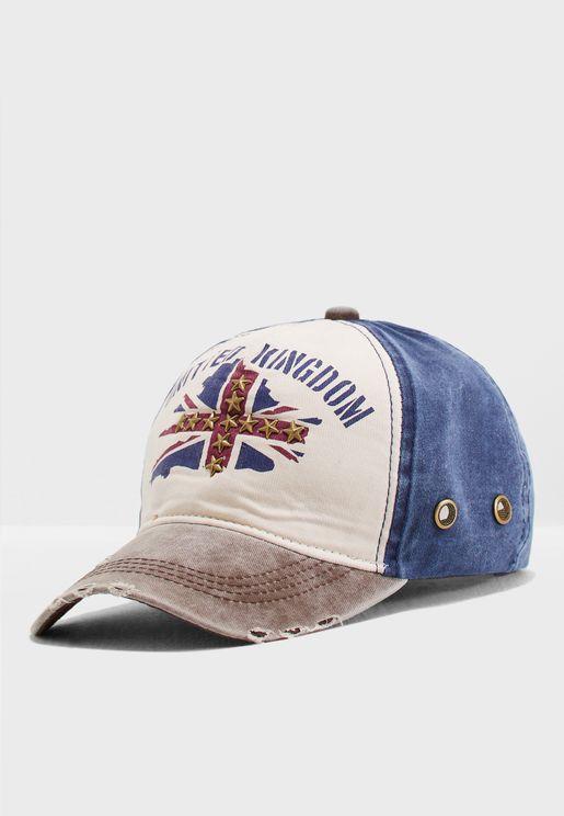 Unikted Kingdom Distressed Cap