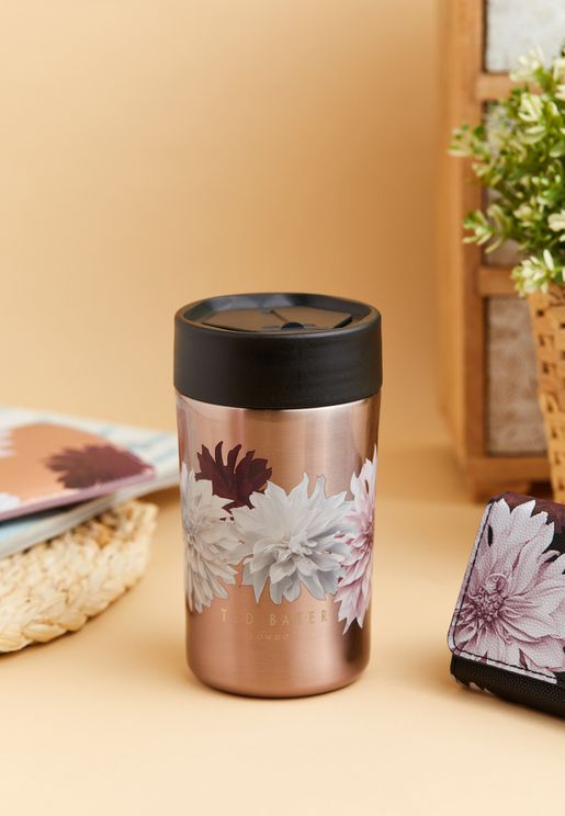 Floral Printed Travel Cup