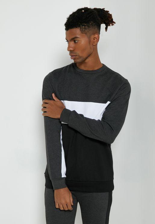 Colourblock Sweatshirt