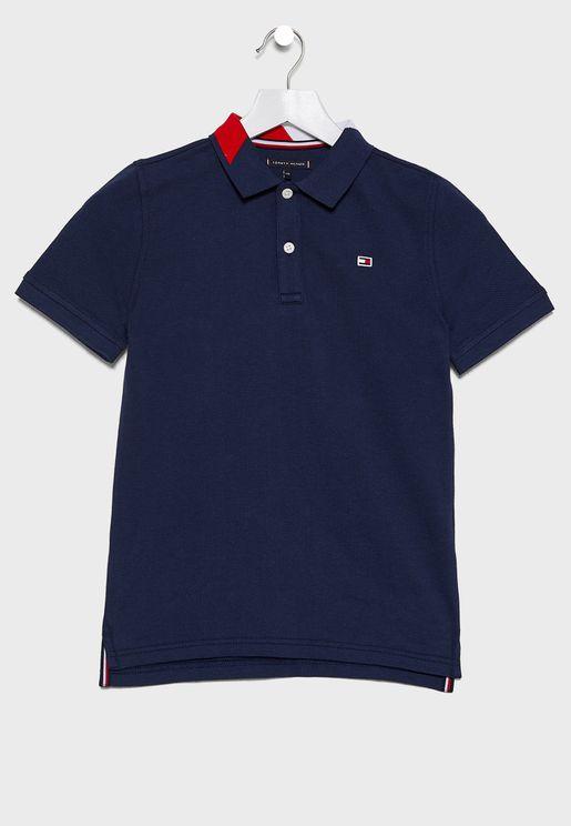 Teen Logo Polo T-Shirt
