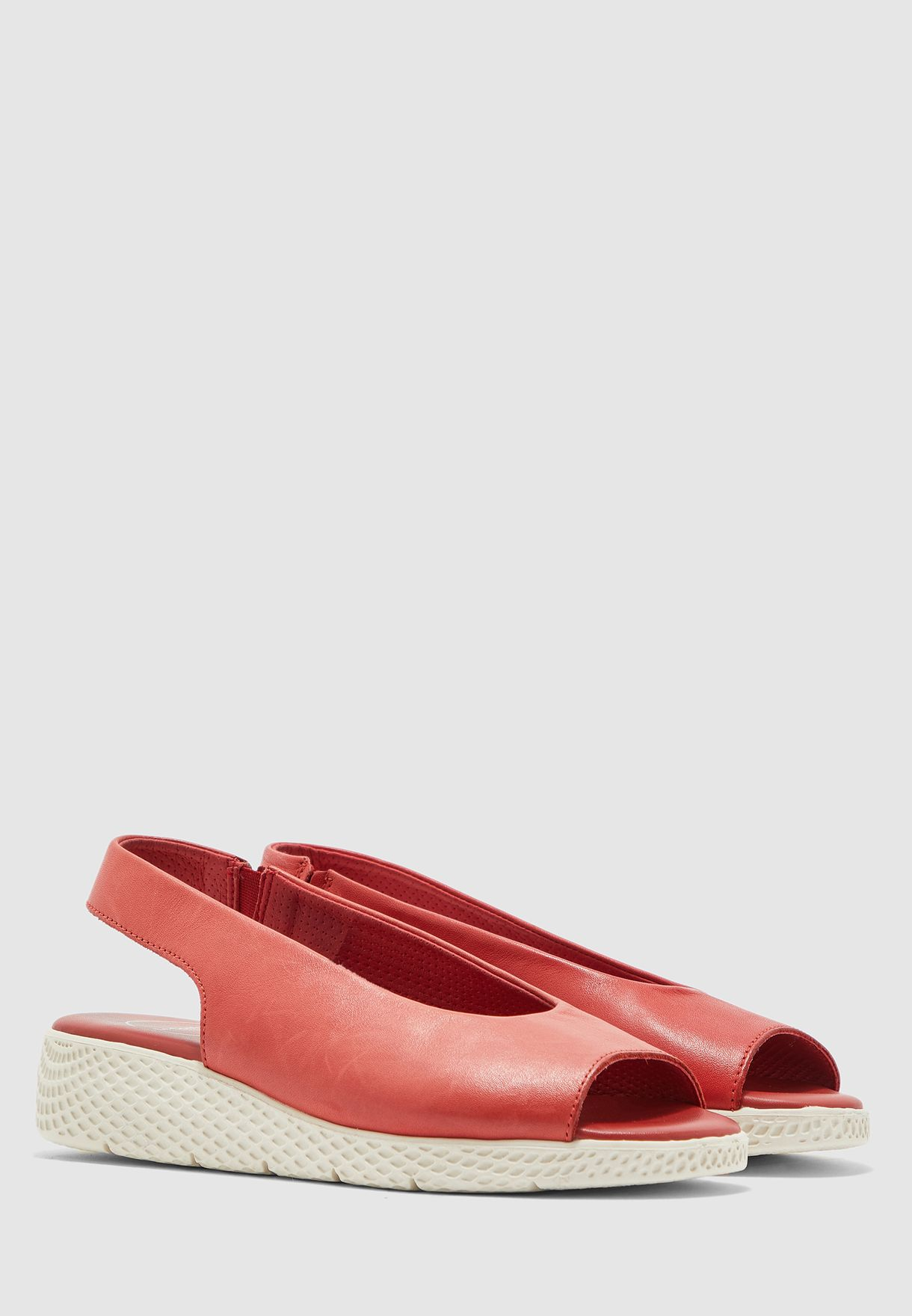Peep Toe Wedge Sandal