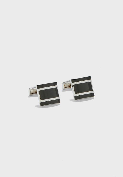 Square Formal Cuff Links