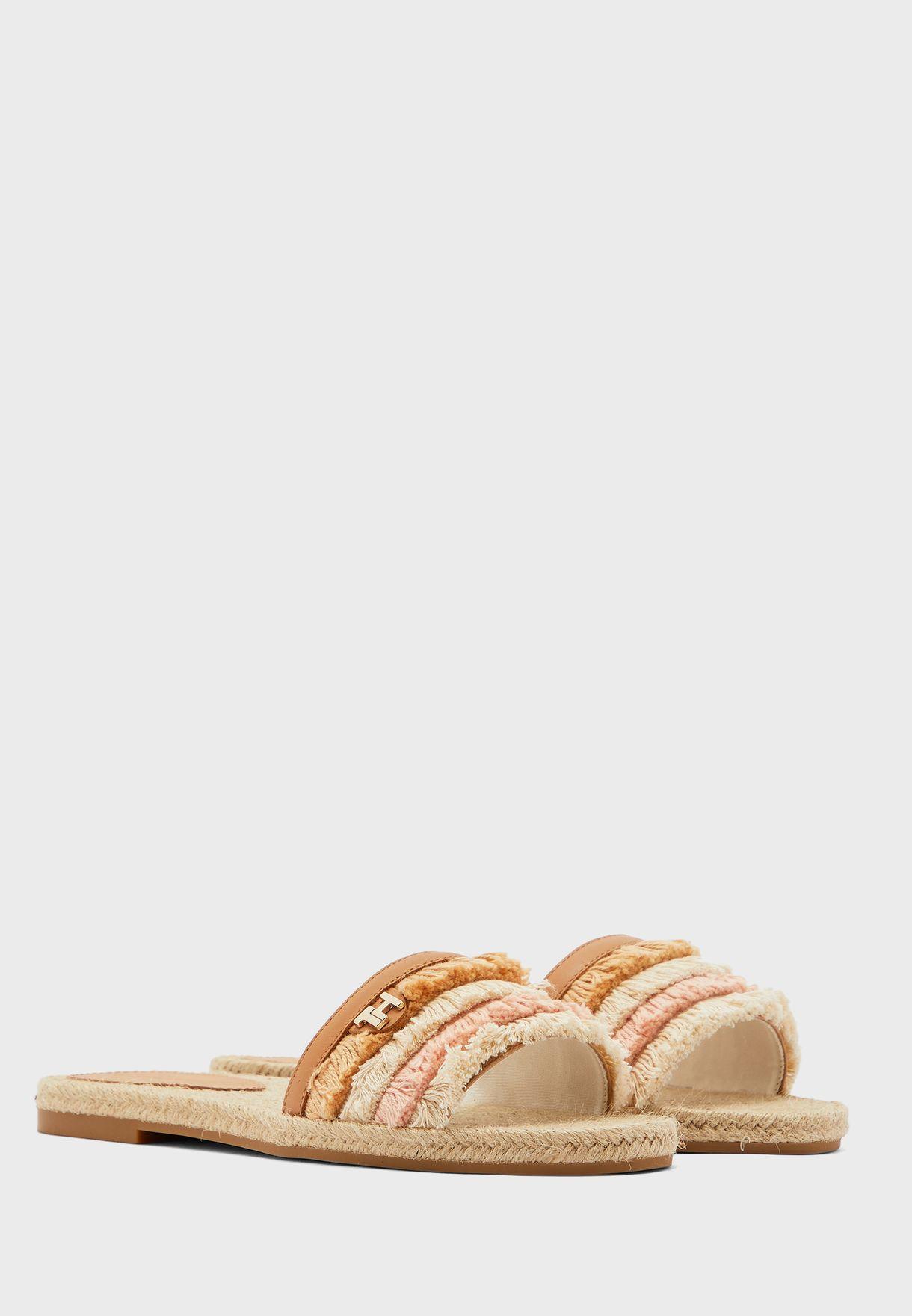 Fringes Flat Sandal