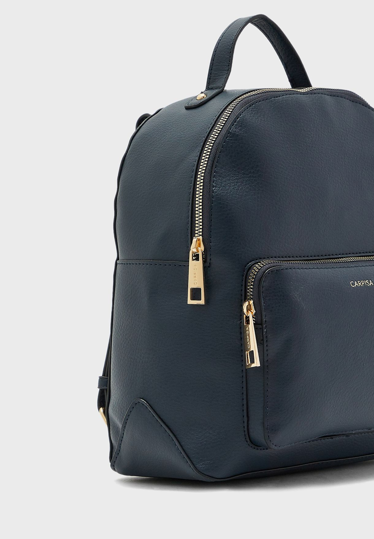 Front Pocket Detail Backpack
