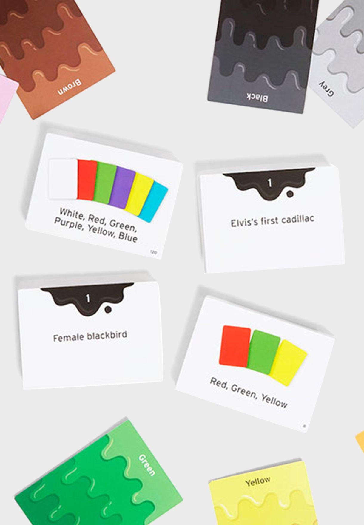 لعبة بطاقات الالوان