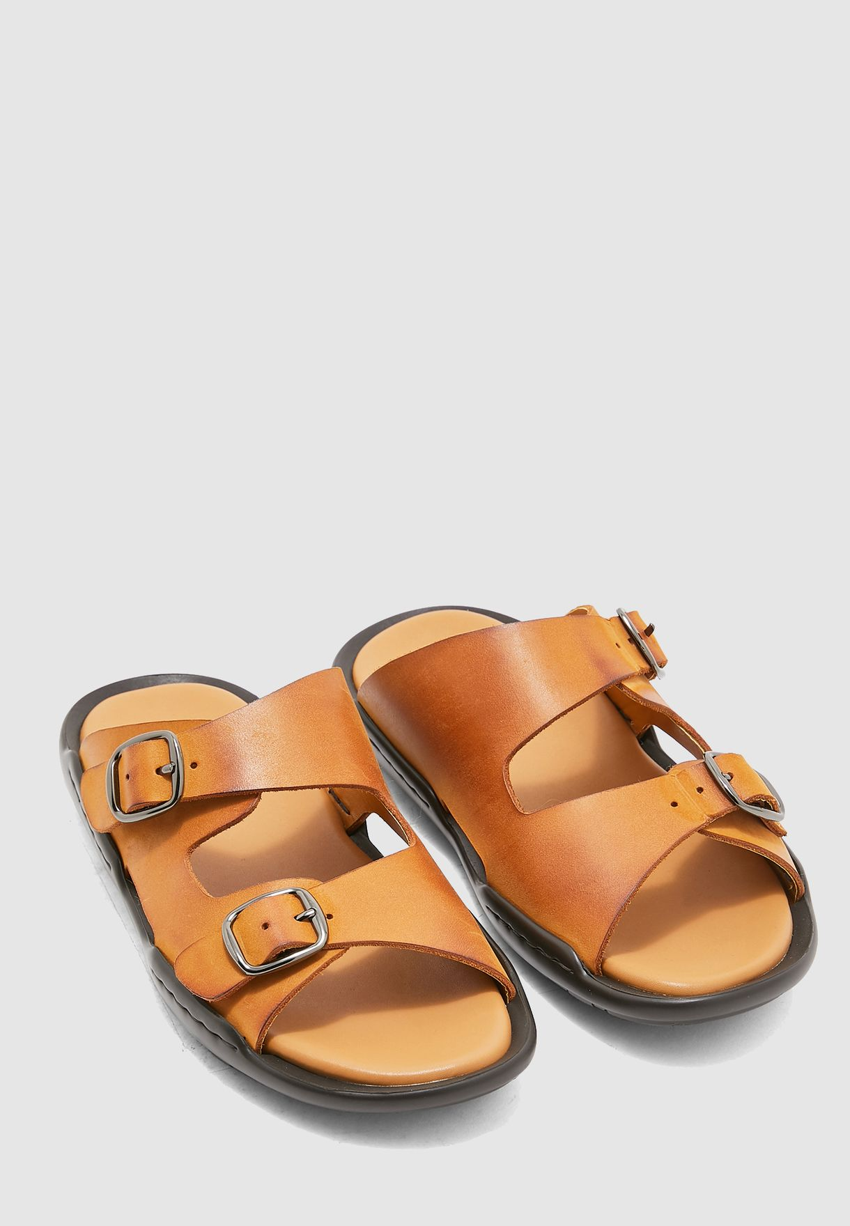 Kitkat Double Strap Sandals