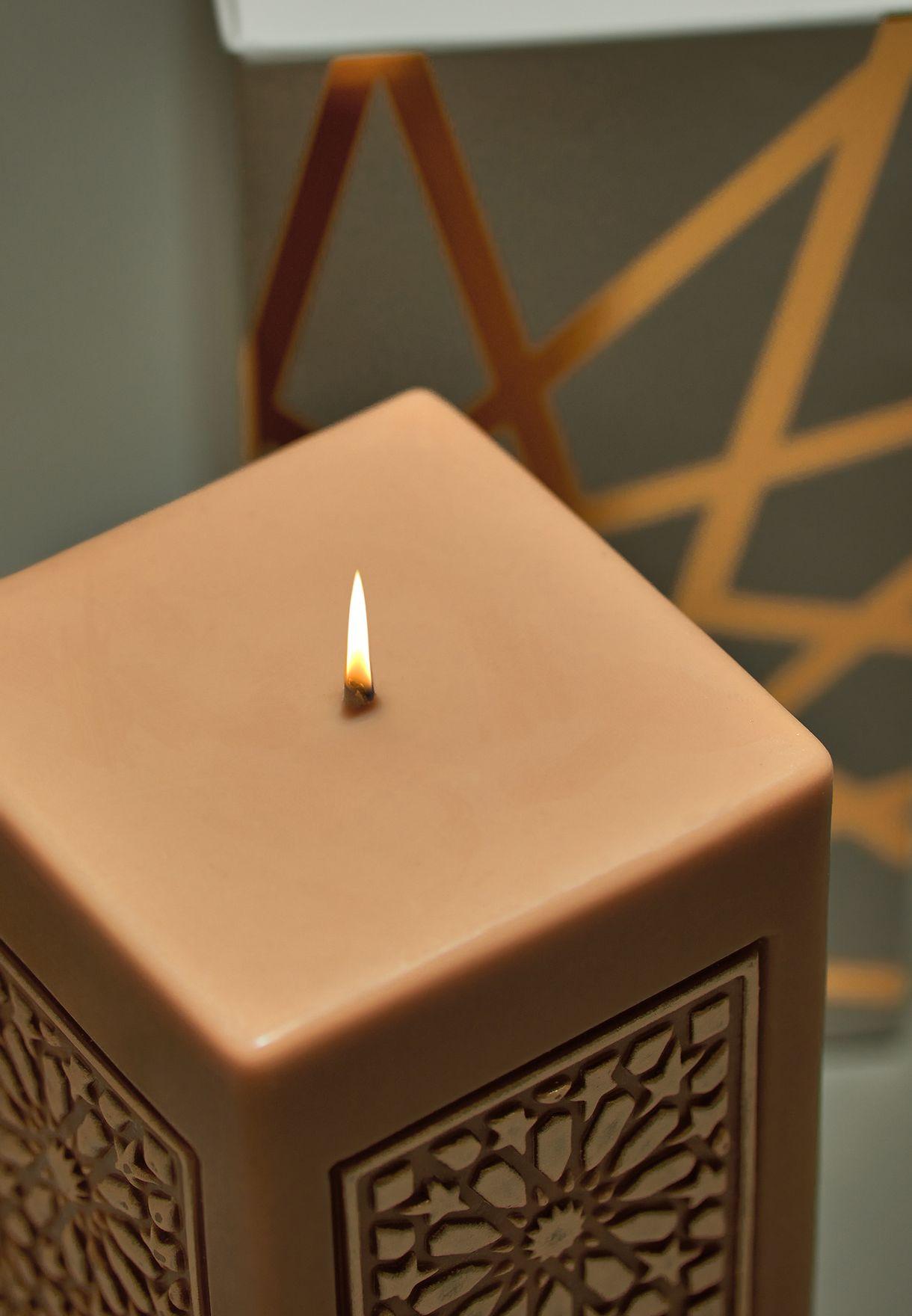 Sahar Large Pillar Candle